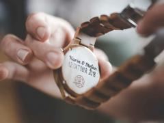 Geef een houten horloge cadeau